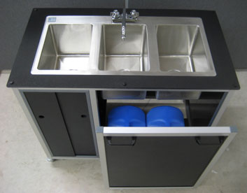 Portable Wash Basin
